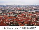 gothic prague from the old... | Shutterstock . vector #1284949312
