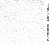 black grainy texture isolated... | Shutterstock .eps vector #1284973612