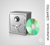 safe with dick | Shutterstock .eps vector #128497502
