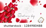 romantic backgrond for st... | Shutterstock .eps vector #1284980488