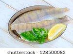 raw fish | Shutterstock . vector #128500082