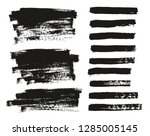 paint brush thin background  ... | Shutterstock .eps vector #1285005145