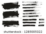 paint brush thin background  ... | Shutterstock .eps vector #1285005322