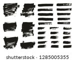 paint brush thin background  ... | Shutterstock .eps vector #1285005355