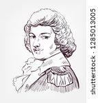 michal kleofas oginski vector... | Shutterstock .eps vector #1285013005