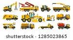 set of construction equipment.... | Shutterstock .eps vector #1285023865