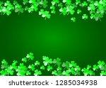 saint patricks day background... | Shutterstock .eps vector #1285034938
