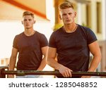 accentuate your physique.... | Shutterstock . vector #1285048852
