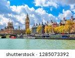 Big Ben And Victoria Embankment ...