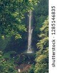 sekumpul waterfall in the green ... | Shutterstock . vector #1285146835