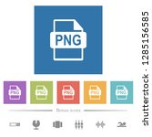 png file format flat white...