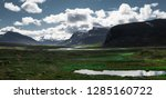 panorama of open nature in a... | Shutterstock . vector #1285160722