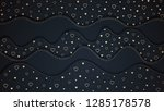 the valentine's day background. ... | Shutterstock .eps vector #1285178578