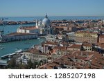 aerial views from the bell... | Shutterstock . vector #1285207198