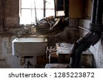 close up of kitchen with butler ... | Shutterstock . vector #1285223872