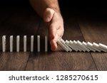 creative background  men's hand ... | Shutterstock . vector #1285270615