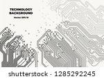 vector eps10. black and white...   Shutterstock .eps vector #1285292245