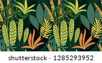 abstract seamless pattern with... | Shutterstock .eps vector #1285293952