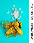 sugar replacing tablets or...   Shutterstock . vector #1285310512