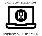 controller search icon....   Shutterstock .eps vector #1285324342