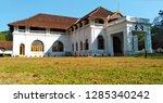 kerala tourism shakthan... | Shutterstock . vector #1285340242