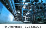 industrial factory | Shutterstock . vector #128536076