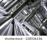 industrial zone  steel... | Shutterstock . vector #128536136