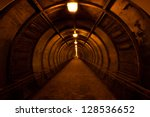Old Dark Red Tunnel