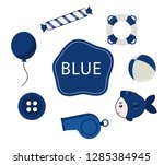 learn the primary colors.... | Shutterstock .eps vector #1285384945