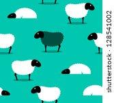 2d Vector Of A Black Sheep...