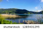 view of abant lake  abant golu .... | Shutterstock . vector #1285431295