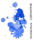 colorful abstract watercolor... | Shutterstock .eps vector #1285445938