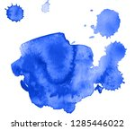 colorful abstract watercolor... | Shutterstock .eps vector #1285446022
