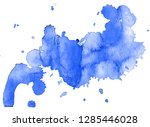 colorful abstract watercolor... | Shutterstock .eps vector #1285446028