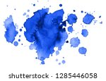 colorful abstract watercolor... | Shutterstock .eps vector #1285446058