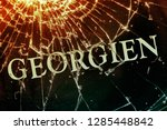 "the german text ""georgia"" on... 