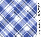 seamless tartan vector pattern | Shutterstock .eps vector #1285457155