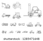 vector design of build and... | Shutterstock .eps vector #1285471648