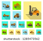 vector illustration of build... | Shutterstock .eps vector #1285473562