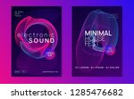trance party. bright show... | Shutterstock .eps vector #1285476682