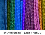 colorful beads background.... | Shutterstock . vector #1285478572