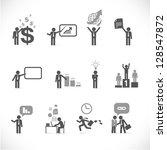 Business Man Metaphors   Figur...