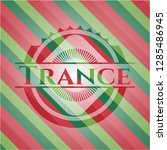 trance christmas colors style... | Shutterstock .eps vector #1285486945