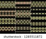 set of ornamental vector... | Shutterstock .eps vector #1285511872