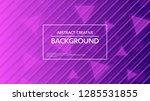 ultraviolet background cool... | Shutterstock .eps vector #1285531855