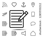 the text file with pencil icon. ...