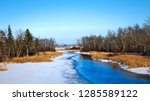 mississippi river flows north... | Shutterstock . vector #1285589122