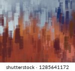 abstract painting backdrop on... | Shutterstock . vector #1285641172
