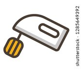 cake mixer icon. single high... | Shutterstock .eps vector #1285649392