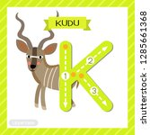 Letter K Uppercase Cute...